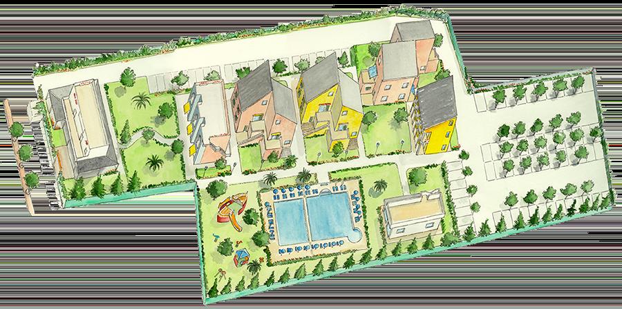Residence per famiglie Borgomare - Albenga