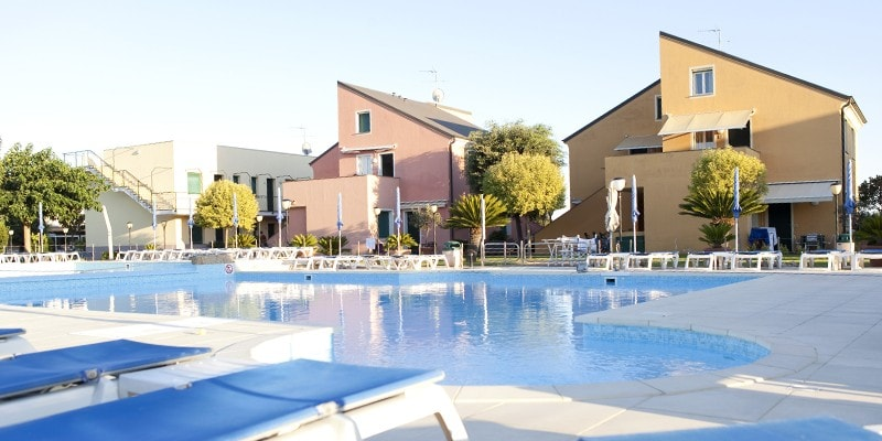Aparthotel for children and families in Albenga in Liguria